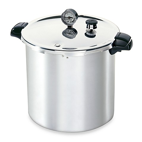 pressure cooker for canning presto aluminum 23 quart pressure canner and cooker bed 11044