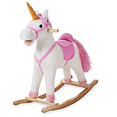 image of Happy Trails Bella the Rocking Unicorn