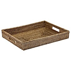 image of The French Chefs™ Rattan Rectangular Tray