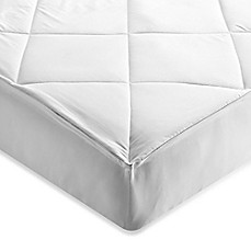 image of Brookstone® Outlast Temperature Regulating Mattress Pad in White
