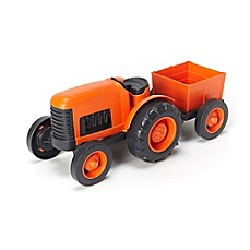 image of Green Toys Farm Tractor in Orange