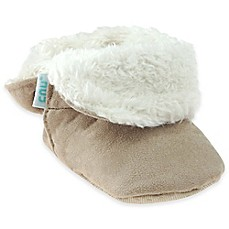 image of Capelli New York Faux Suede Fold-Over Slippers in Tan