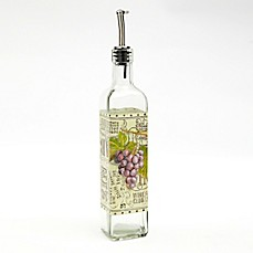 image of Cypress Home Wine Collection Glass Oil Bottle