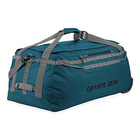 Buy Granite Gear 36 5 Inch Packable Rolling Duffle Bag In