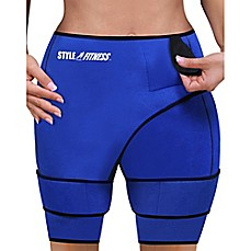 image of Slimming Sauna Shorts in Blue