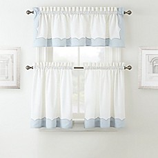 image of Waterford® Cassia Window Curtain Tier Pair and Valance