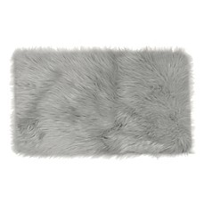 image of Frost Faux Fur Decorative Rug
