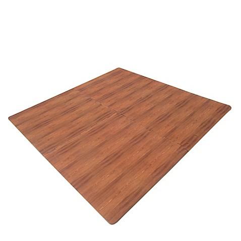 Verdes Jumbo Wood Grain Foam Play Mat Bed Bath Amp Beyond
