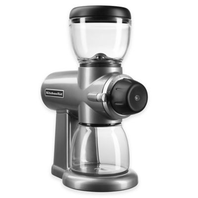 Buy KitchenAid Burr Coffee Bean Grinder in Silver from Bed Bath & Beyond