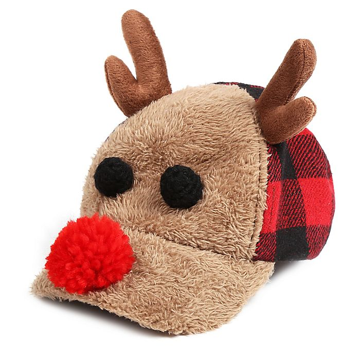 Alternate image 1 for Rising Star™ Buffalo Reindeer Hat in Brown