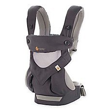 image of Ergobaby™ Four-Position 360 Cool Air Baby Carrier in Carbon Grey