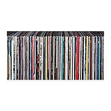 image of Vinyl Records Canvas Wall Art
