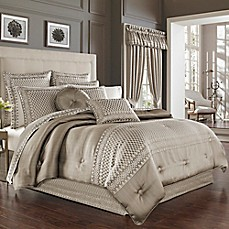 image of J. Queen New York Bohemia Comforter Set in Champagne