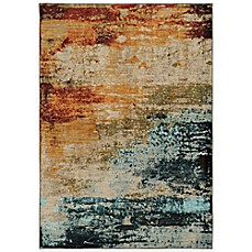 image of Oriental Weavers Sedona Watercolor Rug in Multicolor