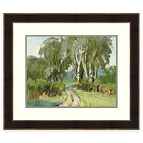Buy country road framed wall art from bed bath beyond for Where to buy framed art