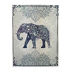 image of Graham & Brown Boho Elephant Canvas Wall Art