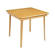 Stakmore 32 Inch Straight Edge Folding Card Table