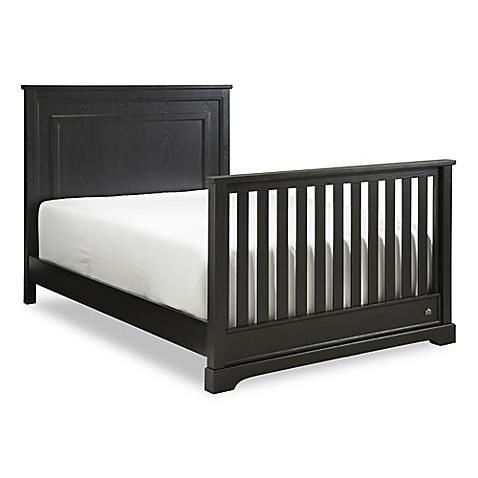 buy hgtv home baby grayson full size bed rails in midnight from bed bath beyond. Black Bedroom Furniture Sets. Home Design Ideas