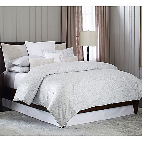 Barbara Barry 174 Sequins Duvet Cover In Mercury Bed Bath