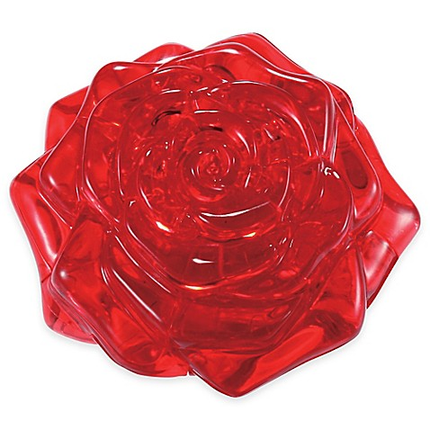 original 3d crystal puzzle rose instructions
