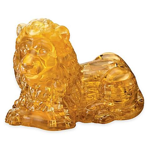 Lion 96 Piece Original 3d Crystal Puzzle Bed Bath Amp Beyond