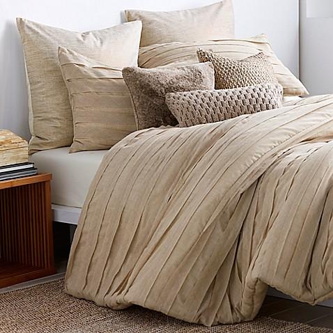 Buy Dkny Loft Stripe Standard Pillow Sham In Linen From