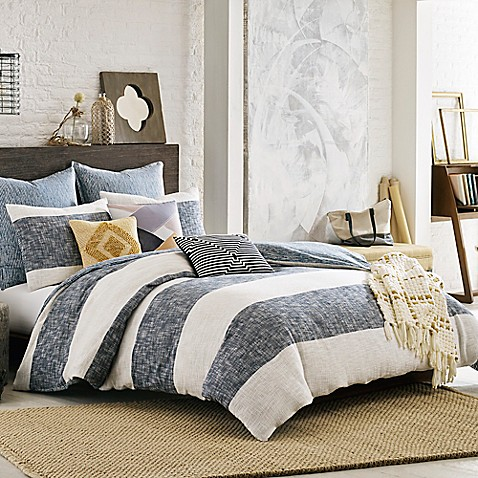 KAS ROOM South Hampton Duvet Cover in Blue - Bed Bath & Beyond : kas quilts - Adamdwight.com