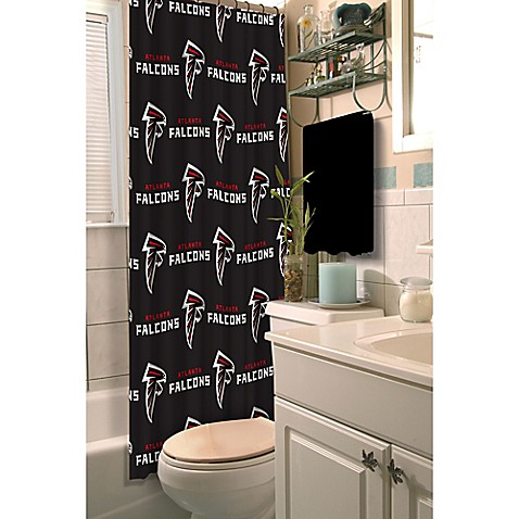 Nfl Atlanta Falcons Shower Curtain Bed Bath Beyond