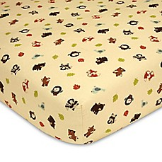 image of carter's® Friends Fitted Crib Sheet