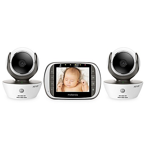 motorola mbp853connect 2 digital video baby monitor with wi fi internet viewi. Black Bedroom Furniture Sets. Home Design Ideas