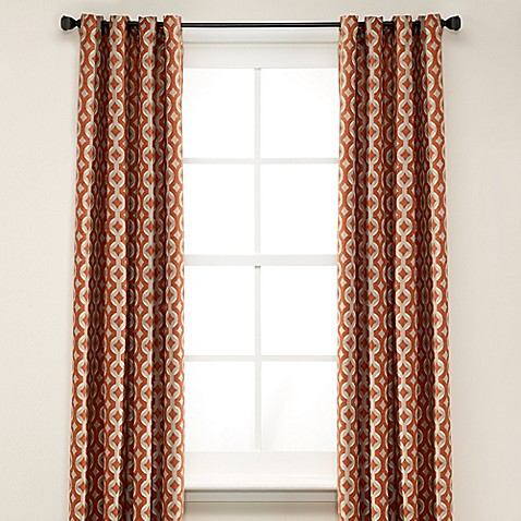 Buy Anello 63 Inch Grommet Top Window Curtain Panel In