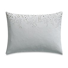 image of Barbara Barry® Clover Field Oblong Throw Pillow in Dew