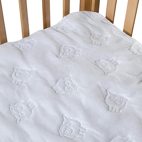 Bb Basics Waterproof Flat Crib Pad Cover Bed Bath Amp Beyond