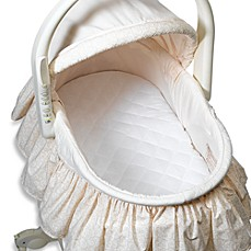 image of bb Basics Quilted Waterproof Bassinet Pad Cover