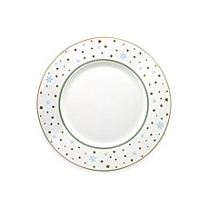 image of P by Prouna My Noel Charger Plate