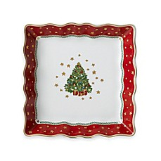 image of P by Prouna My Noel 7-Inch Lace Square Tray