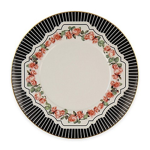 P by Prouna Valentine Rose Salad Plate