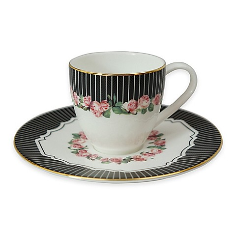 P by Prouna Valentine Espresso Cup and Saucer