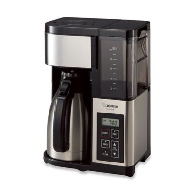 Coffee Maker Thermal Carafe Removable Water Reservoir : Zojirushi Fresh Brew Plus Thermal Carafe Coffee Maker - Bed Bath & Beyond