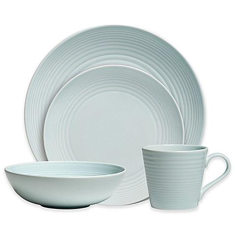 Gordon Ramsay by Royal Doulton® Maze 16-Piece Dinnerware Set in Blue ...