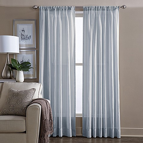 image of wamsutta sheer window curtain panel