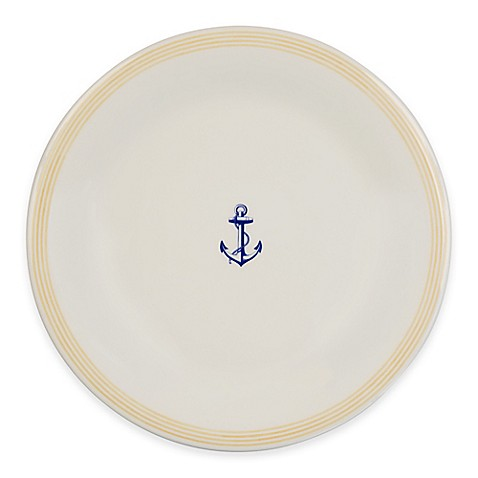 P by Prouna Marine Blue Dinner Plate