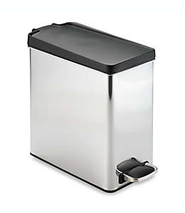 Bote de basura de acero inoxidable simplehuman®, 10 L