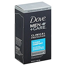image of Dove® 1.7 oz. Men+Care Clinical Protection Antiperspirant and Deodorant in Clean Comfort