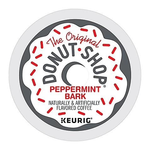 pack 18count the original donut shop peppermint bark - Donut Shop Coffee