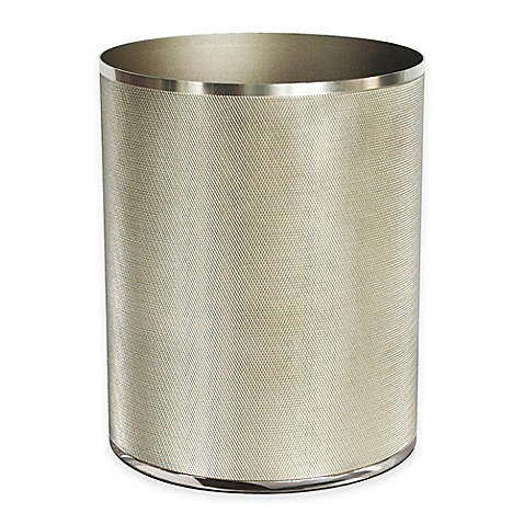Geneva wastebasket bed bath beyond - Elegant wastebasket ...