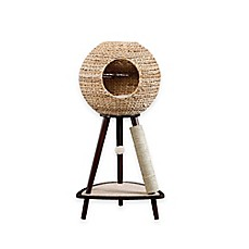image of Sauder Natural Sphere Cat Tower