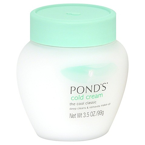 Pondu0026#39;su00ae 3.5 Oz. Cold Cream Cleanser Moisturizing Deep Cleanser And Makeup Remover - Bed Bath ...