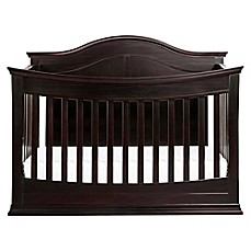 image of DaVinci Meadow 4-in-1 Convertible Crib in Dark Java