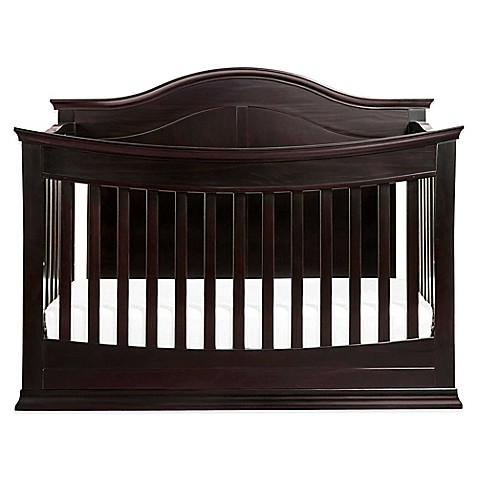 davinci meadow 4 in 1 convertible crib in java buybuy baby
